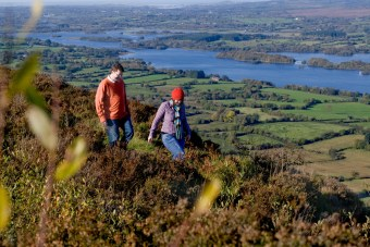 Walking in Lower Lough Erne