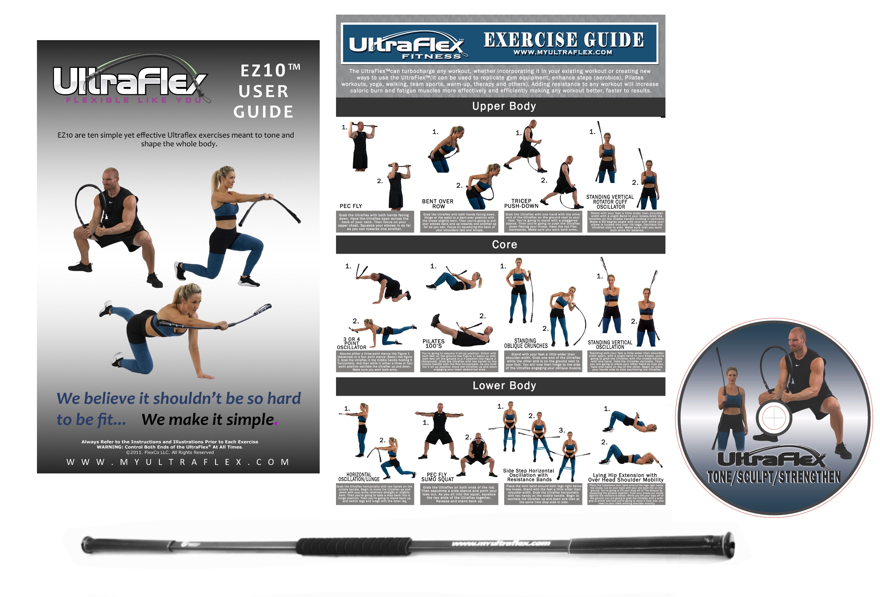 Portable and Lightweight fitness package
