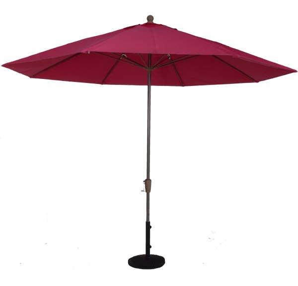 11 Ft. Fire Retardant Market Umbrella