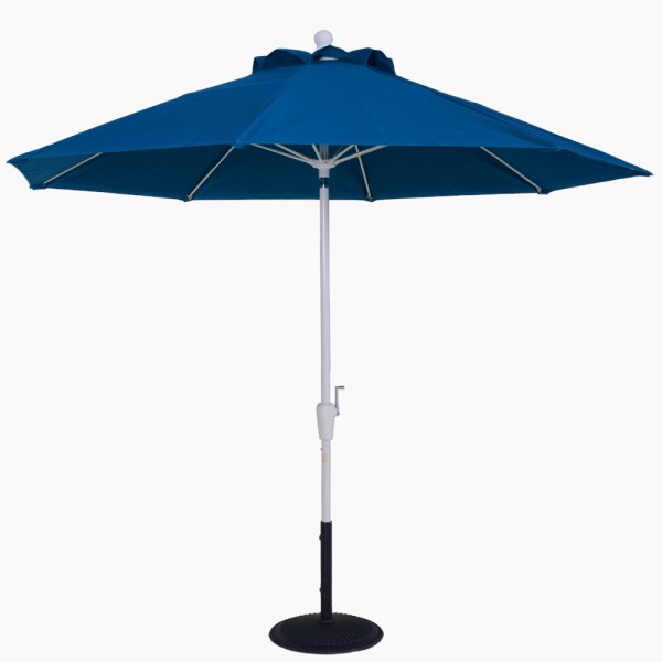 9 Ft. Aluminum Market Auto-tilt Umbrella-market Umbrellas