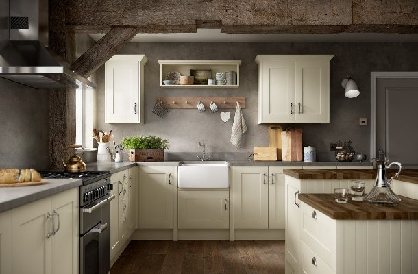 New Shaker Ivory Addition to Warwick Kitchen Range