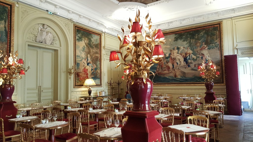 Jacquemart-André museum, cafe, restaurant, museum, Paris, France, Tiepolo ceiling, original dining room