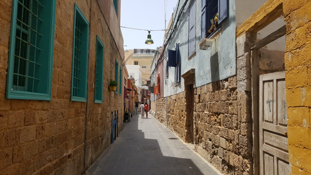 Tyre, Lebanon, old city, alleys