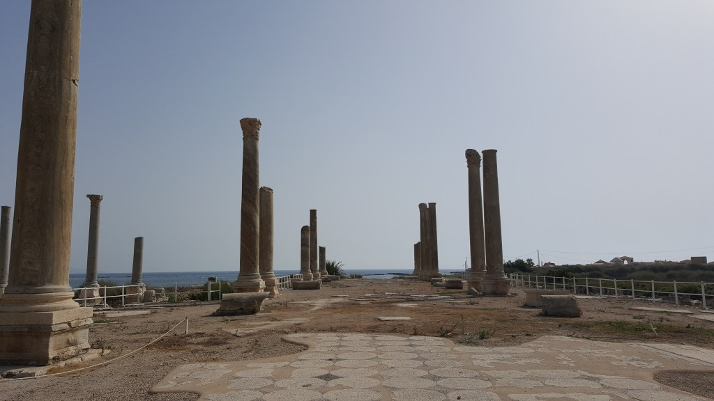 Tyre, Lebanon, roman city, columns, sea, ancient cities, archaeological site