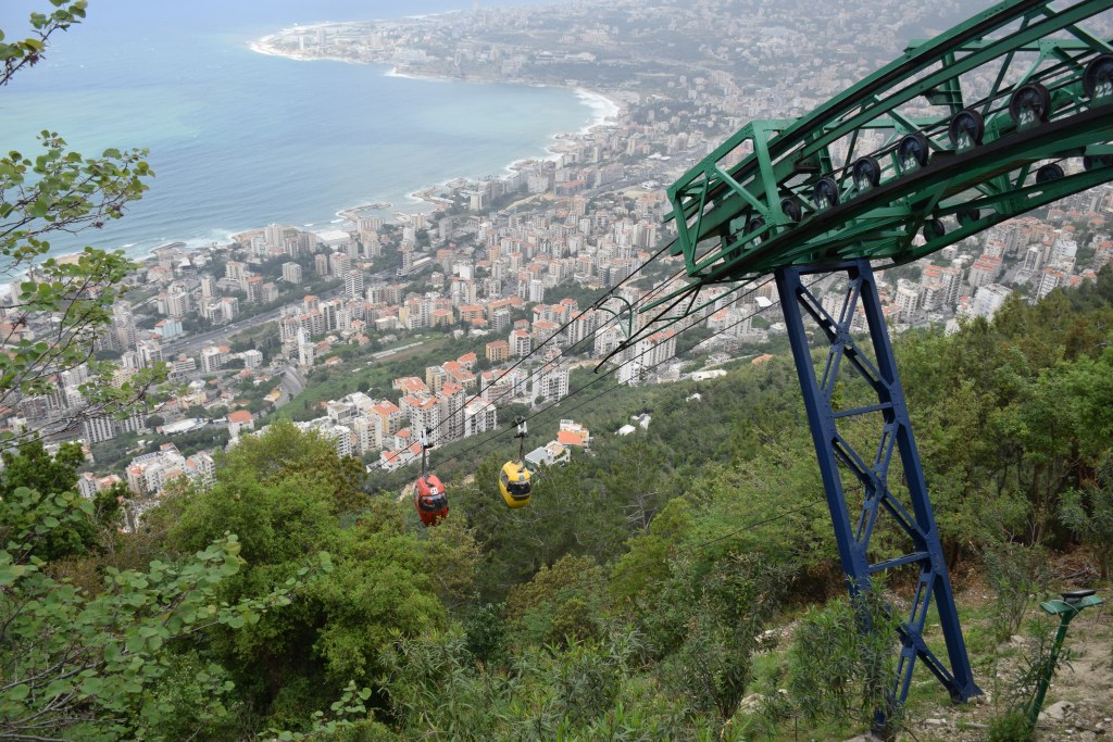 Teleferique, Lebanon, Jounieh, Harissa, Our Lady of Lebanon, shrine