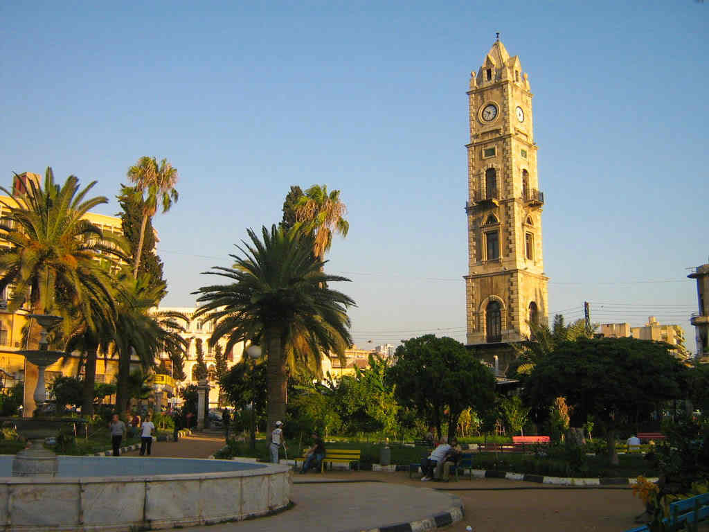 Tripoli, Lebanon, Clock tower, center, downtown