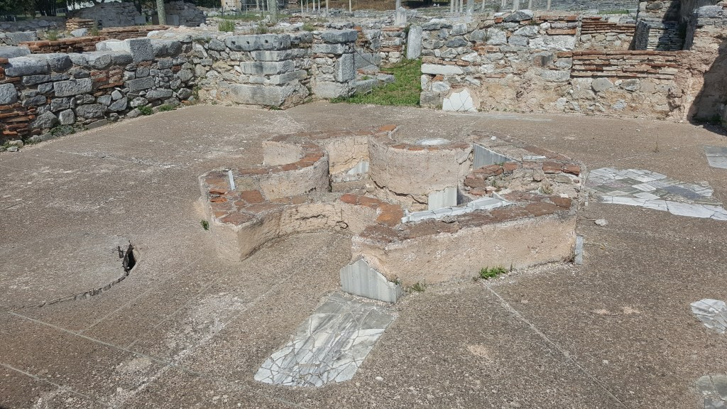Philippi, Greece, Octagonal church, Roman cities, Byzantine cities, ancient civilizations