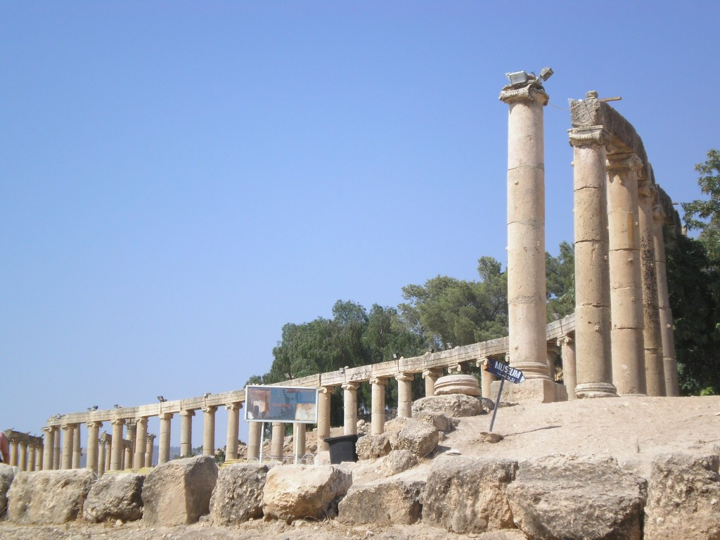 Gerasa, Jerash, Jordan, Roman cities, ancient civilizations