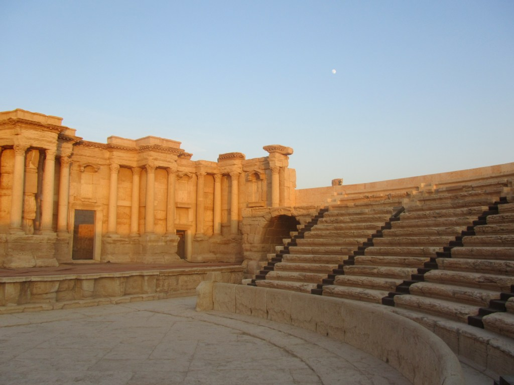 Palmyra, Syria, Roman cities, ancient civilization