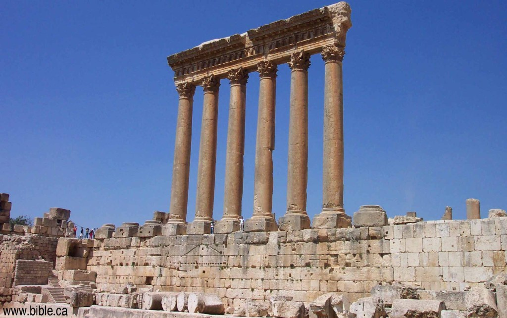Baalbek, Lebanon, Roman cities, ancient civilizations, heliopolis