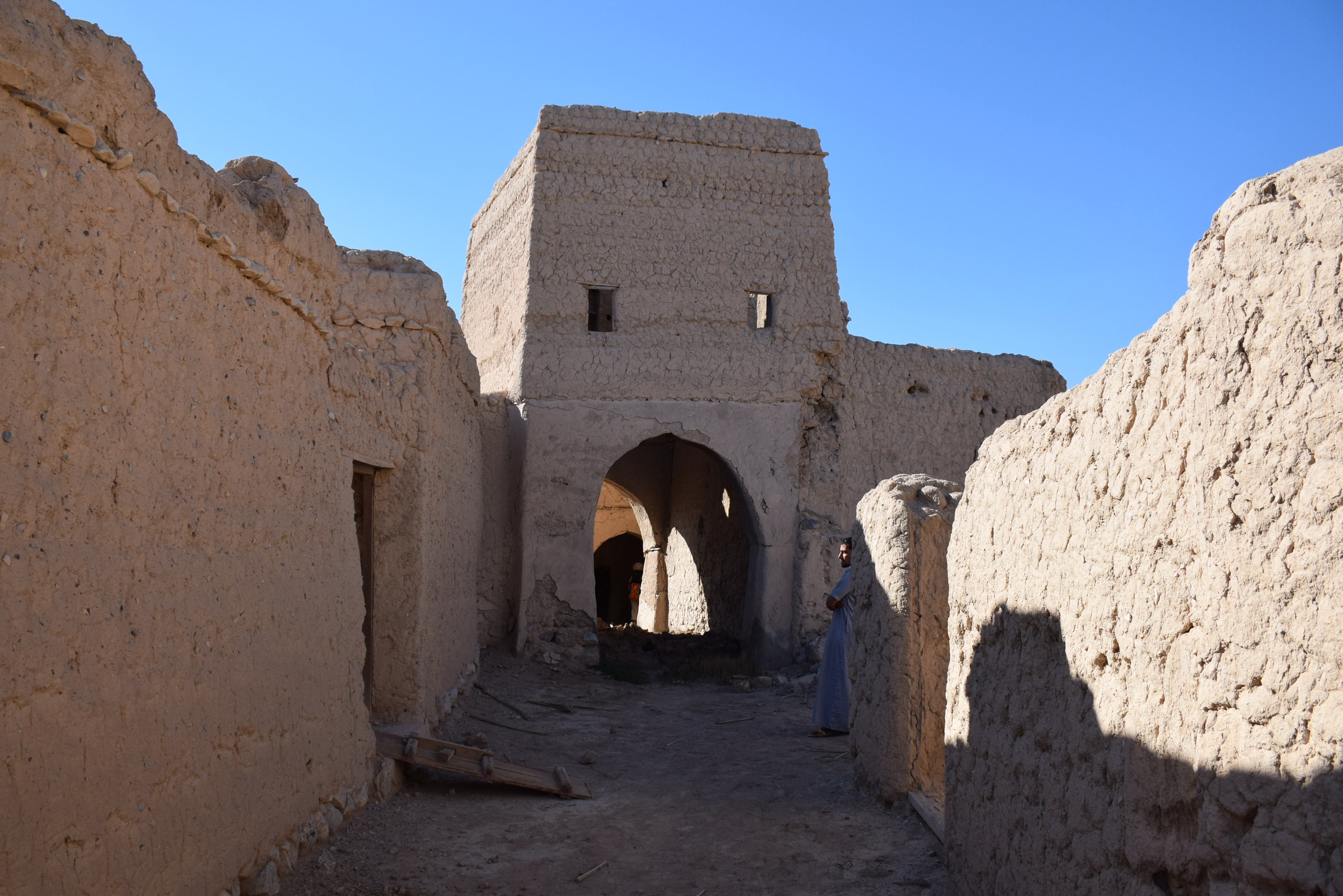 Oman, mud houses, traditional architecture