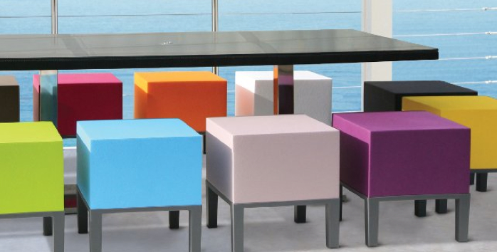 QUINZE AND MILAN Arne Quinze Pouf Stool My Urban Child
