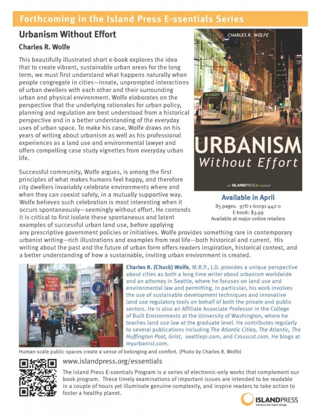 Wolfe_UrbanismWithoutEffort