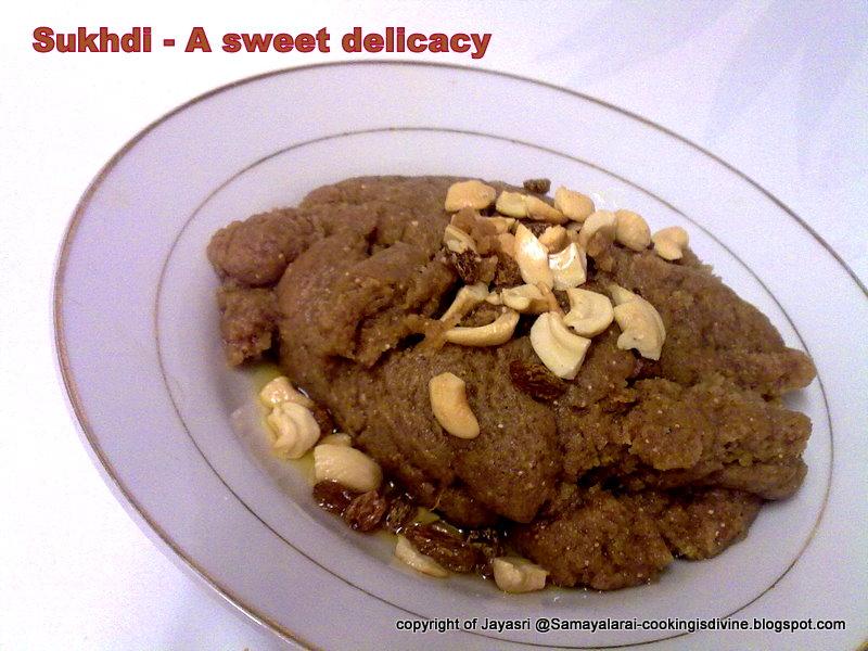 Sukhdi or Golpapdi - A Gujarati dessert