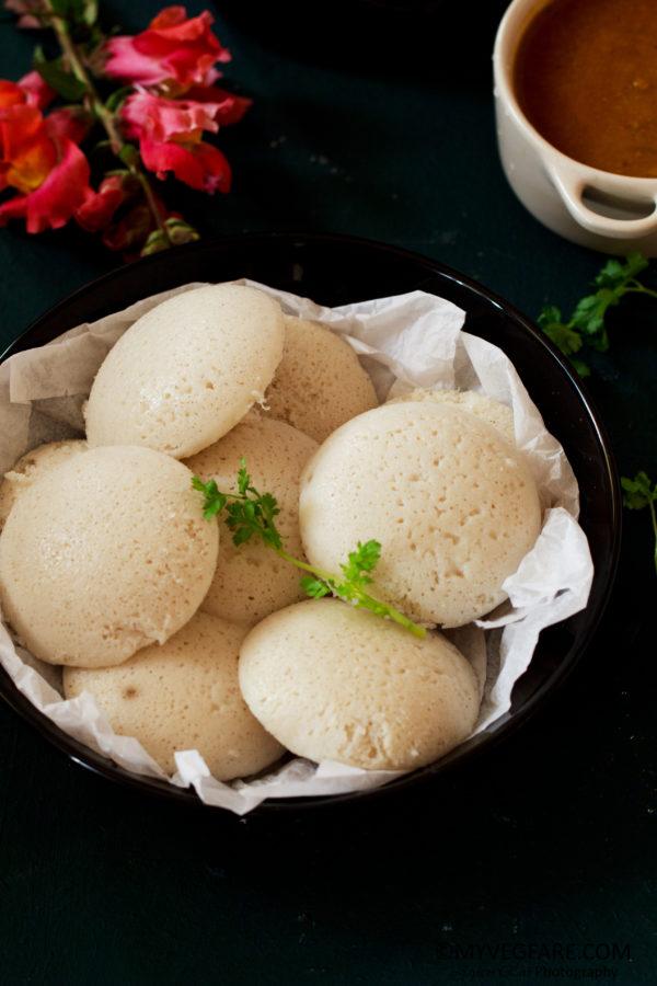 Kodo Millet Idli (Kodo Millet steamed dumplings) #Varagarasi, #Kodra, #Arka, #Koovaragu