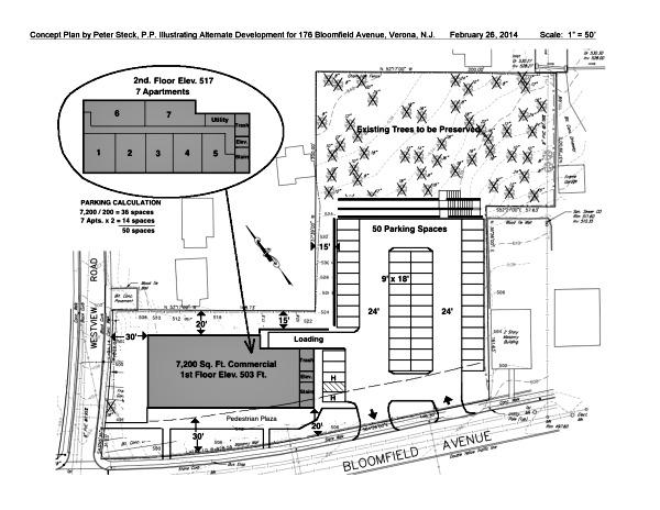 Opponents Show Alternate Plan For Bloomfield Avenue