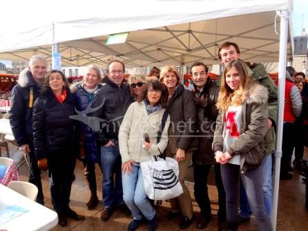 Apéro huîtres 2015 Place du Marché au Vésinet
