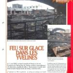 Article de René Dosne dans la revue Face au Risque « Feu sur glace dans les Yvelines » daté du 01.12.2002