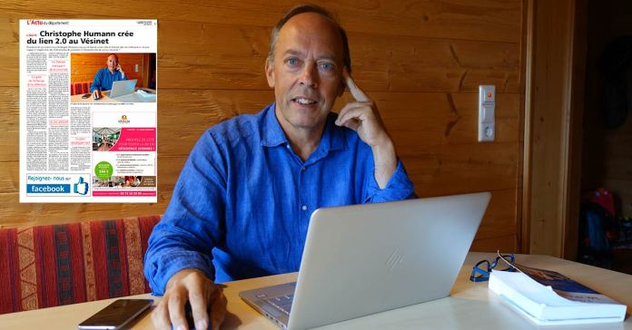 Myvesinet.com dans le Courrier des Yvelines : l'article en ligne !