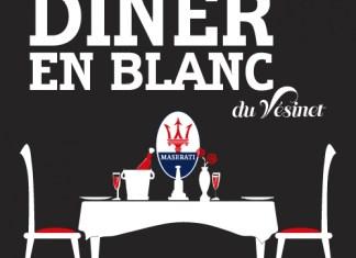 3e Dîner en blanc du Vésinet le samedi 18 juin, à 20h30 : the place to be !