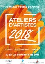 samedi 22 et dimanche 23 les artistes du Vésinet, de Chatou et de Croissy vous ouvrent leurs portes de 14 à 19h00.