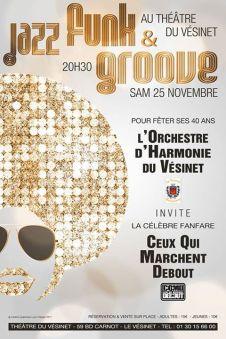 Samedi 25 novembre, Venez fêter les 40 ans de l'Harmonie Municipale