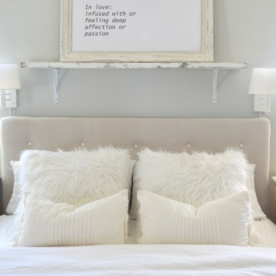 My DIY Tufted Headboard