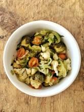 Zoodles Veggie Bowl