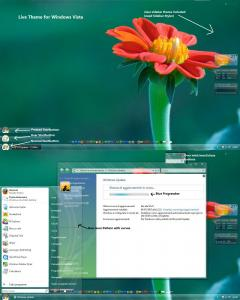 Windows Vista Live Vista v.1.2 Theme