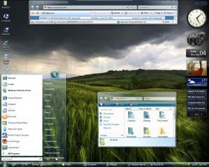 Windows Vista Glass Theme