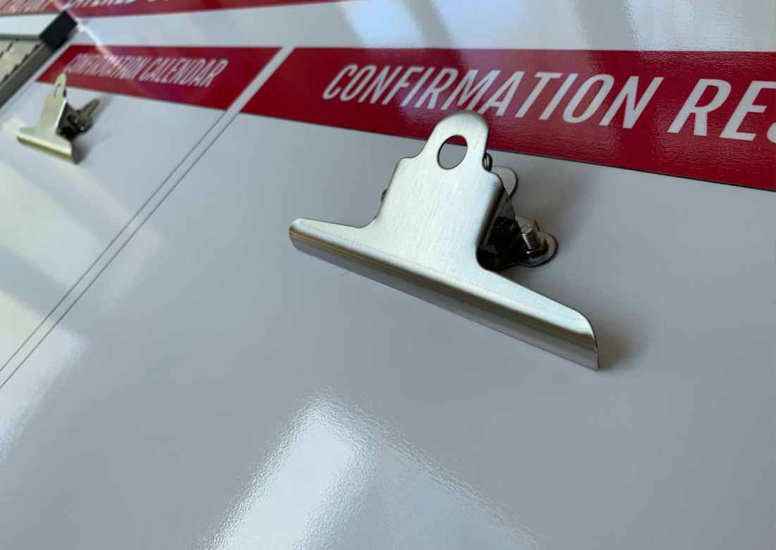 Stainless Steel Document Clips