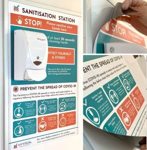 Hand Sanitisation Stations