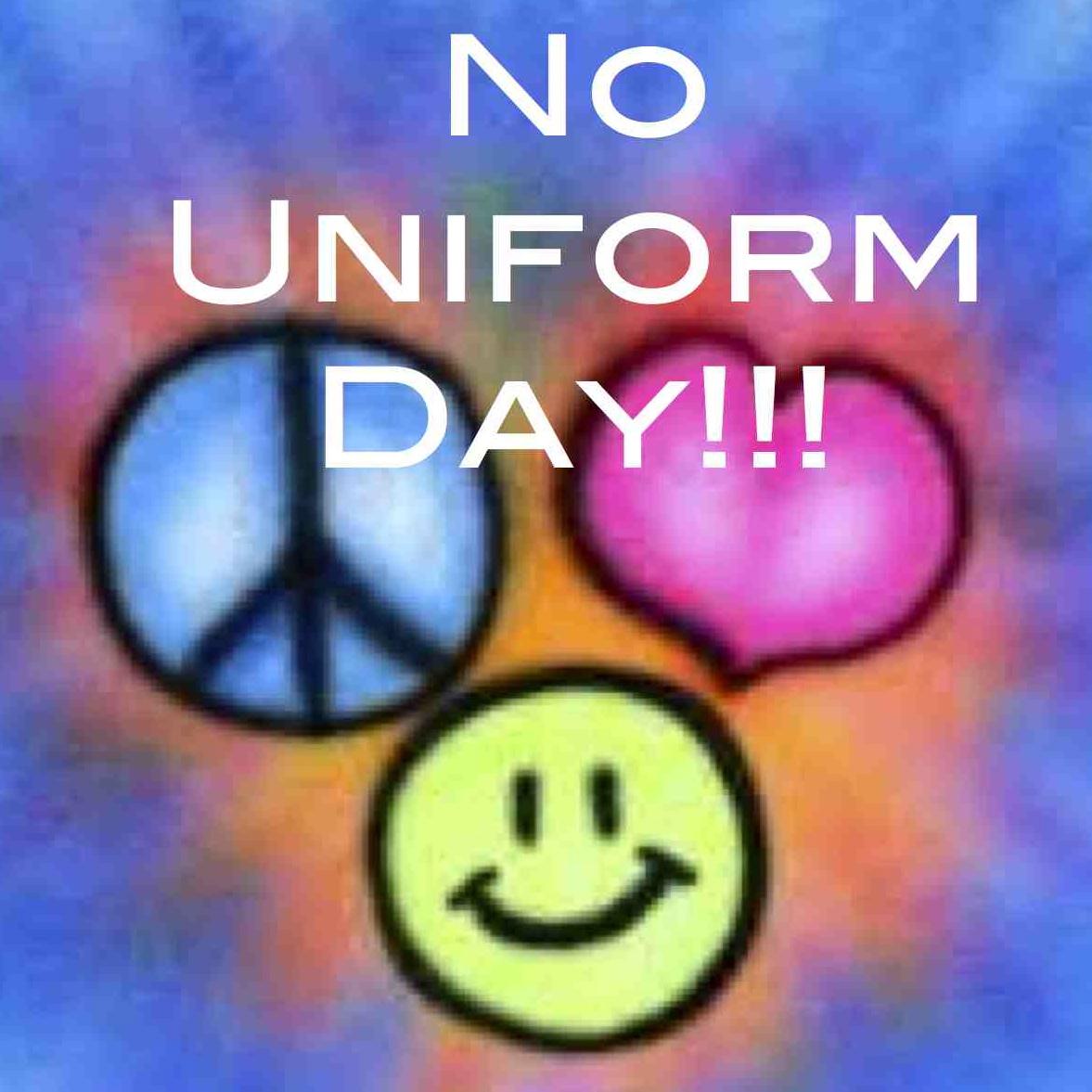 """Résultat de recherche d'images pour """"no uniform day"""""""