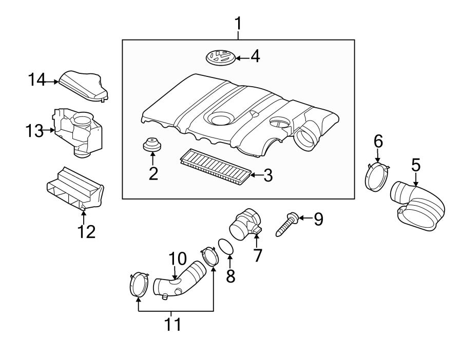 Volkswagen Beetle Air Filter. LITER, WAGON, ENGINE