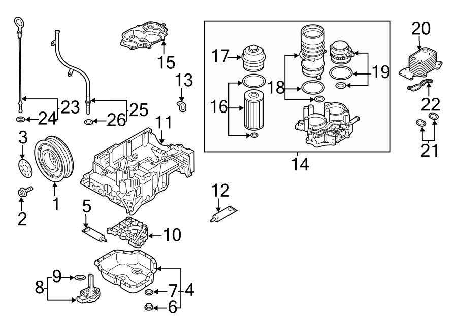 Volkswagen Jetta GLI Automatic Transmission Oil Cooler