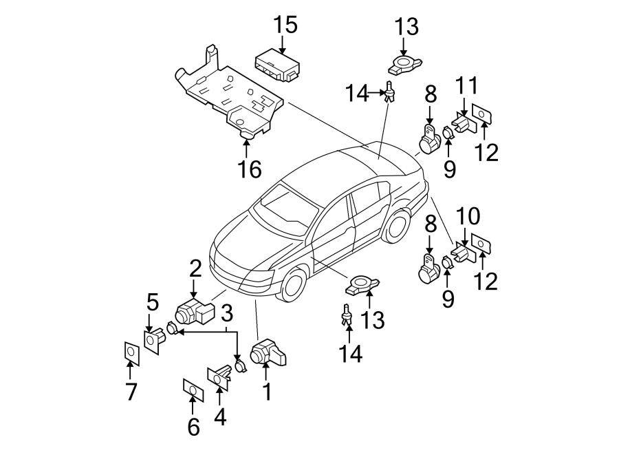Volkswagen Passat Parking Aid System Control Module