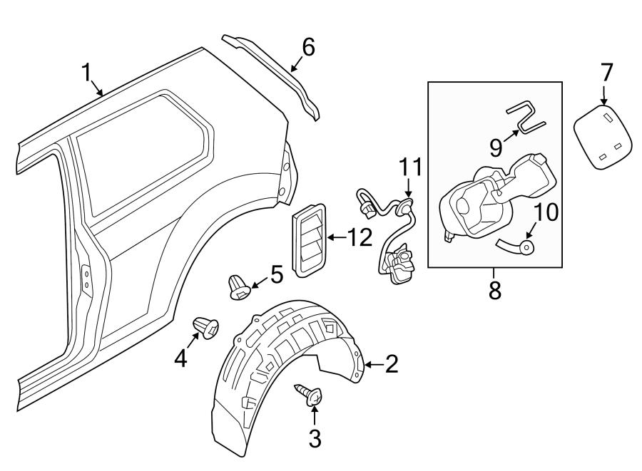 2016 Volkswagen Golf Actuator. 2 DOOR. 4 DOOR. Golf