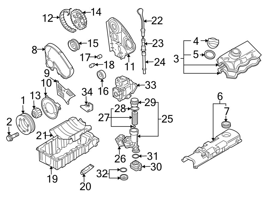 Volkswagen Jetta Diesel Fuel Injector Pump. Reman. Diesel