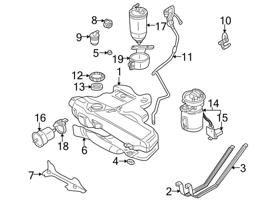 Volkswagen Jetta GLI Pump. Fuel. And Sender Assembly
