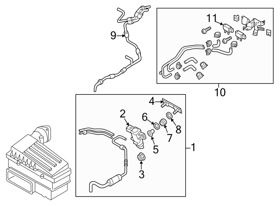 Volkswagen Jetta Hybrid Control ASSEMBLY. Evaporative