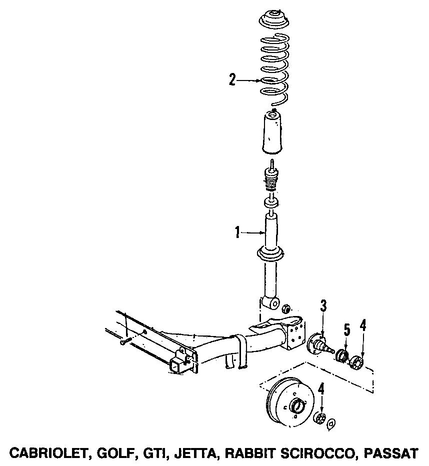 Volkswagen Corrado Bearing. Wheel. Manual. Transmission