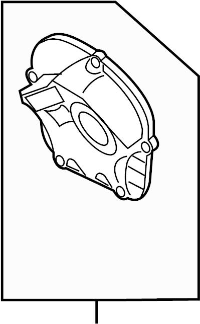 Volkswagen Beetle Engine Timing Cover. LITER, VIN
