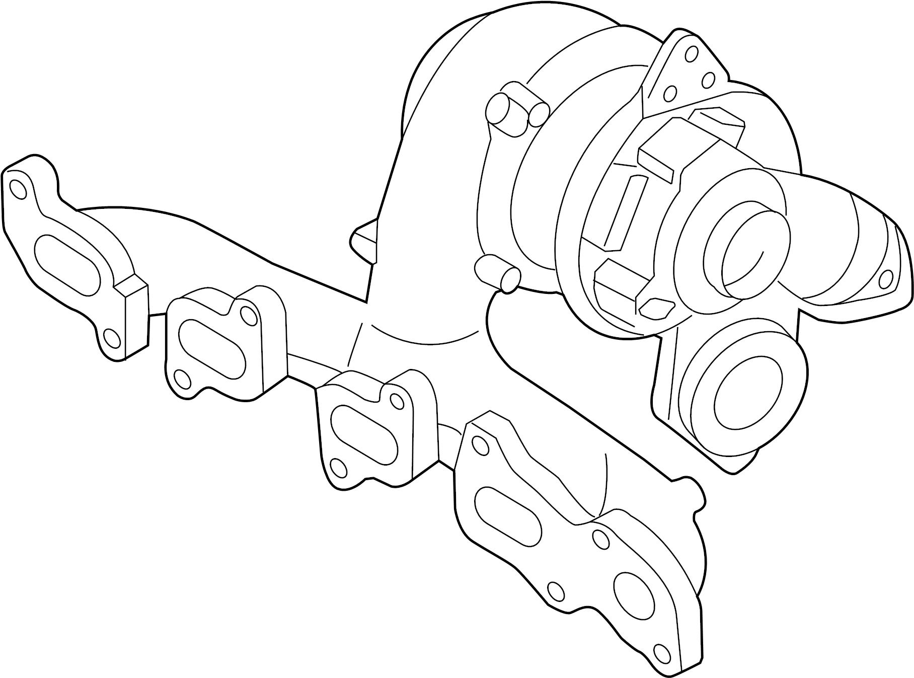 Volkswagen Beetle Exhaust Manifold. EXMANTURBO