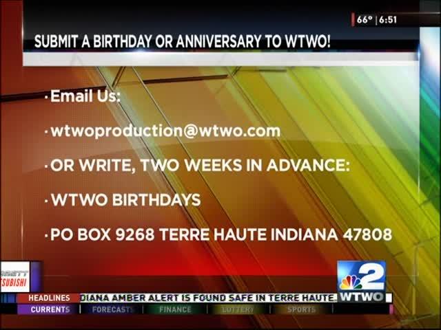 Birthdays 10/05/16