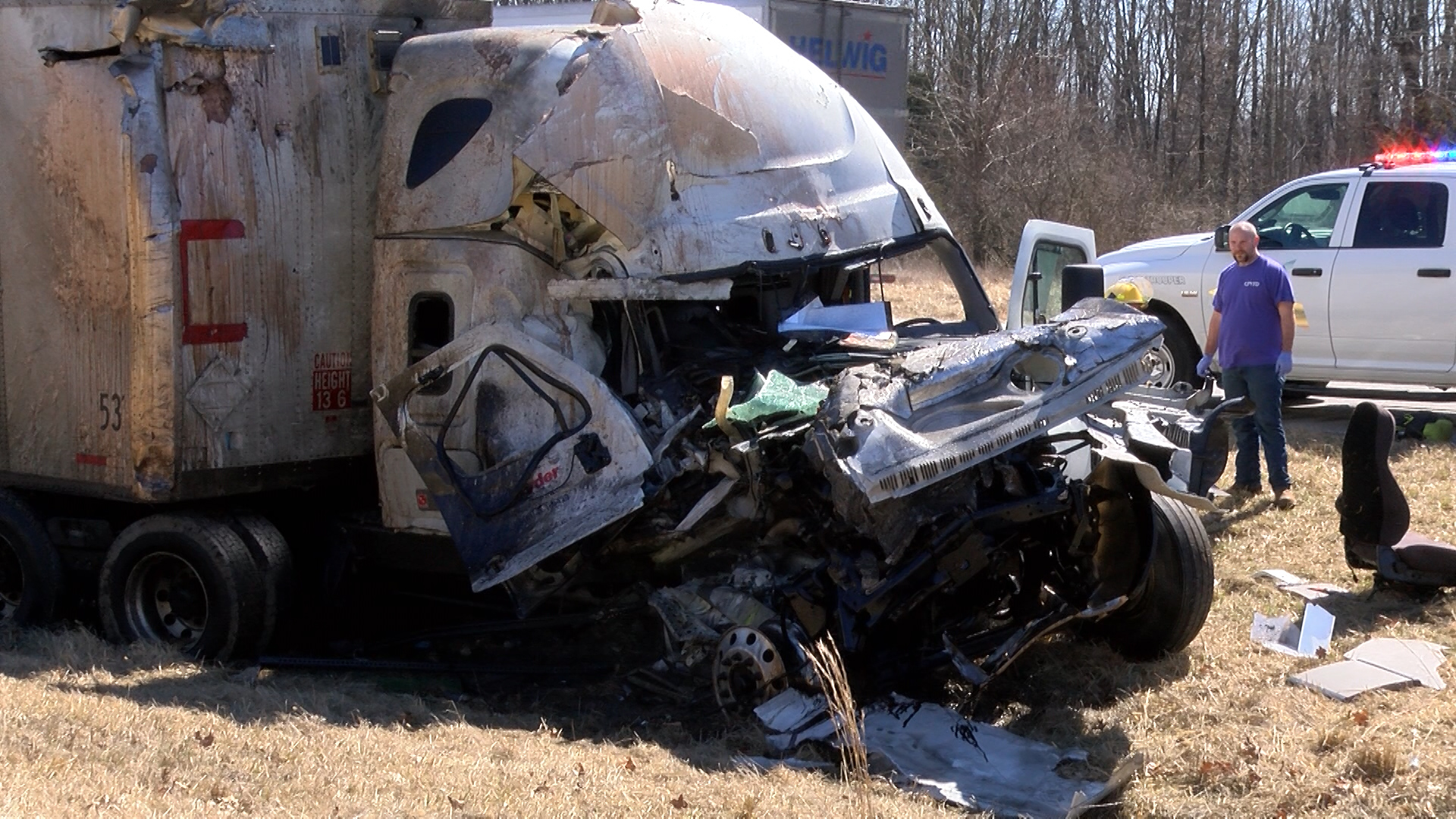 Crashes on I-70 West claim the lives of two people
