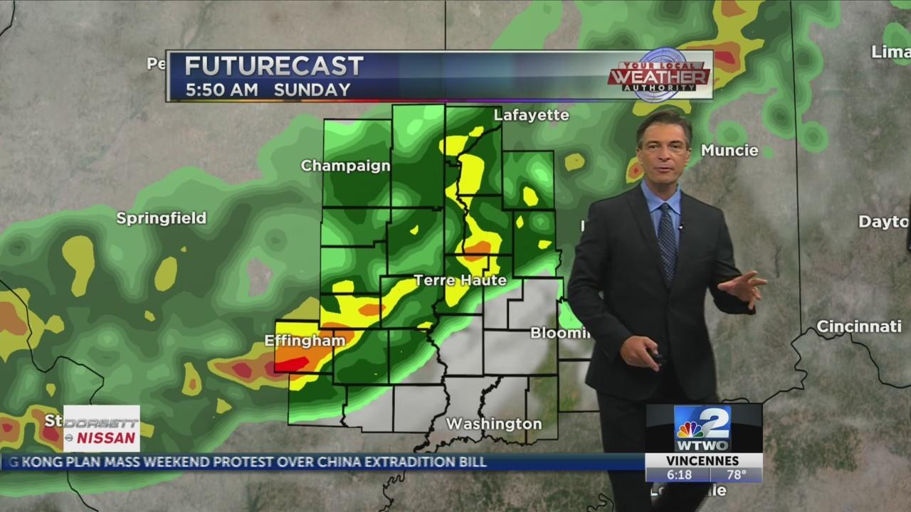 Wet weather pattern returns