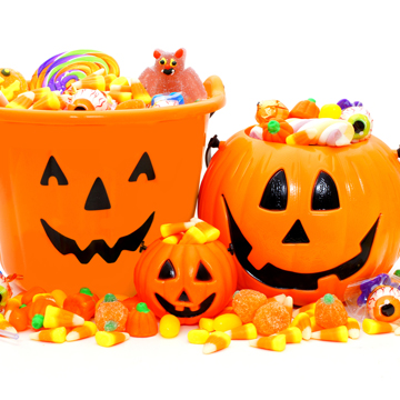 enjoy halloween candy