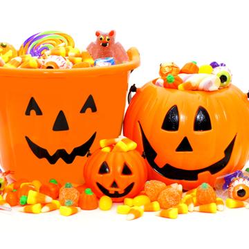 enjoy halloween candy