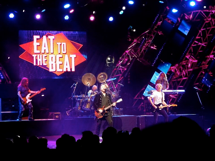 eat to the beat concert, epcot food and wine festival, disney world, orlando, florida