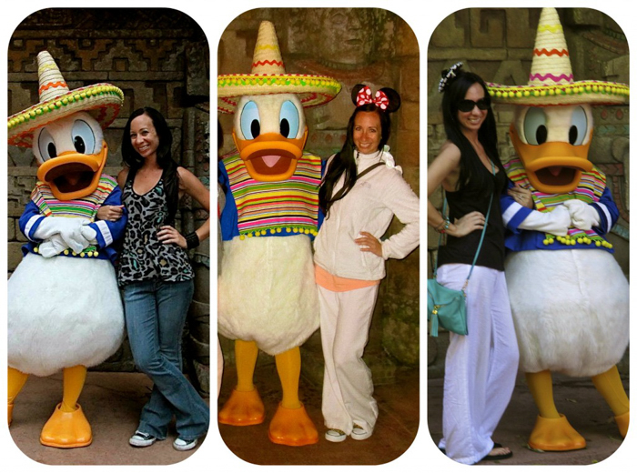 mexican donald duck, epcot food and wine festival, disney world, orlando, Florida